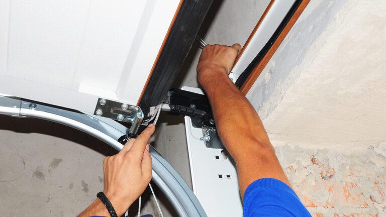 How to Replace Broken Torsion Spring On Garage Door
